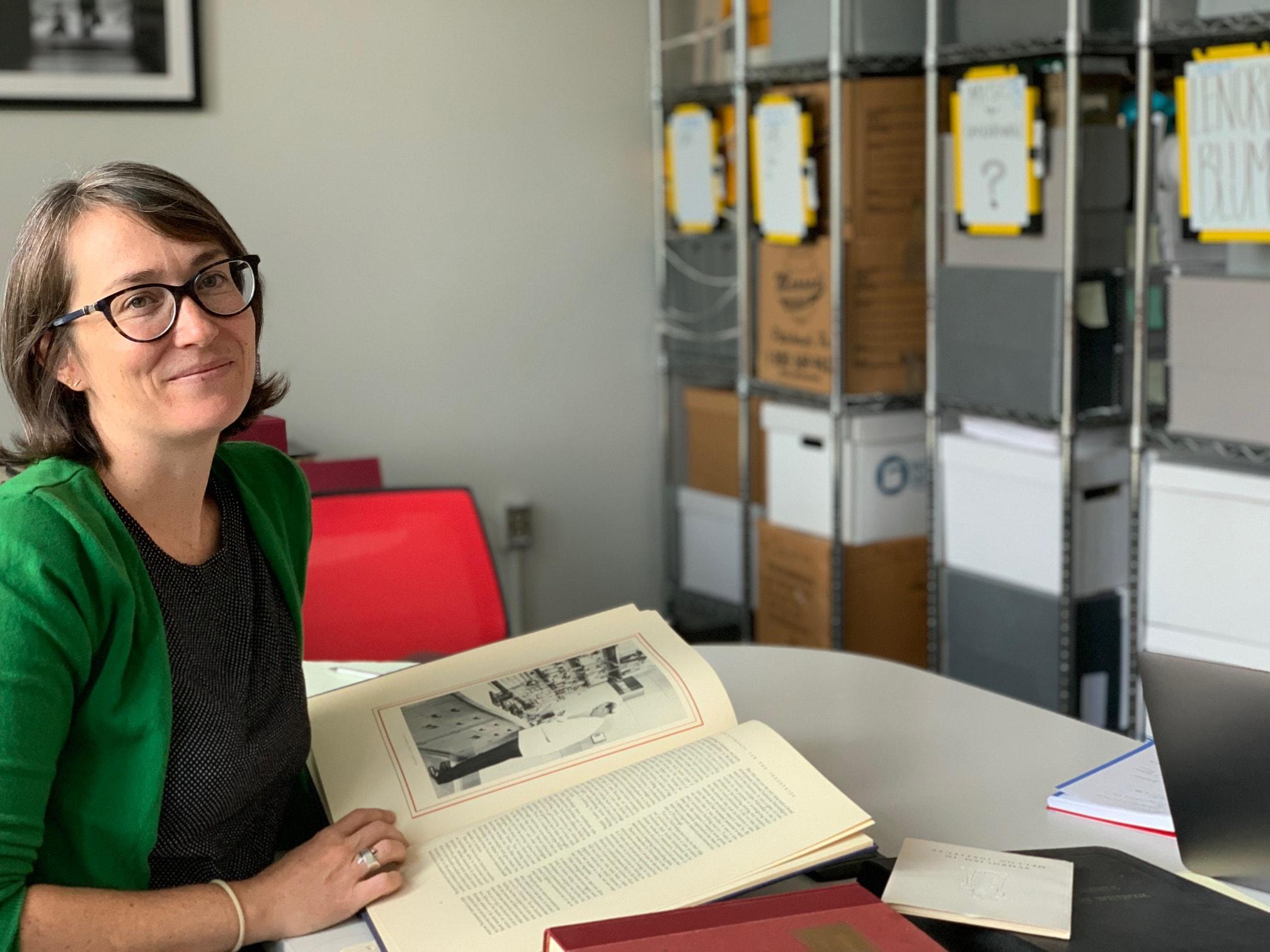 Archivist Emily Davis