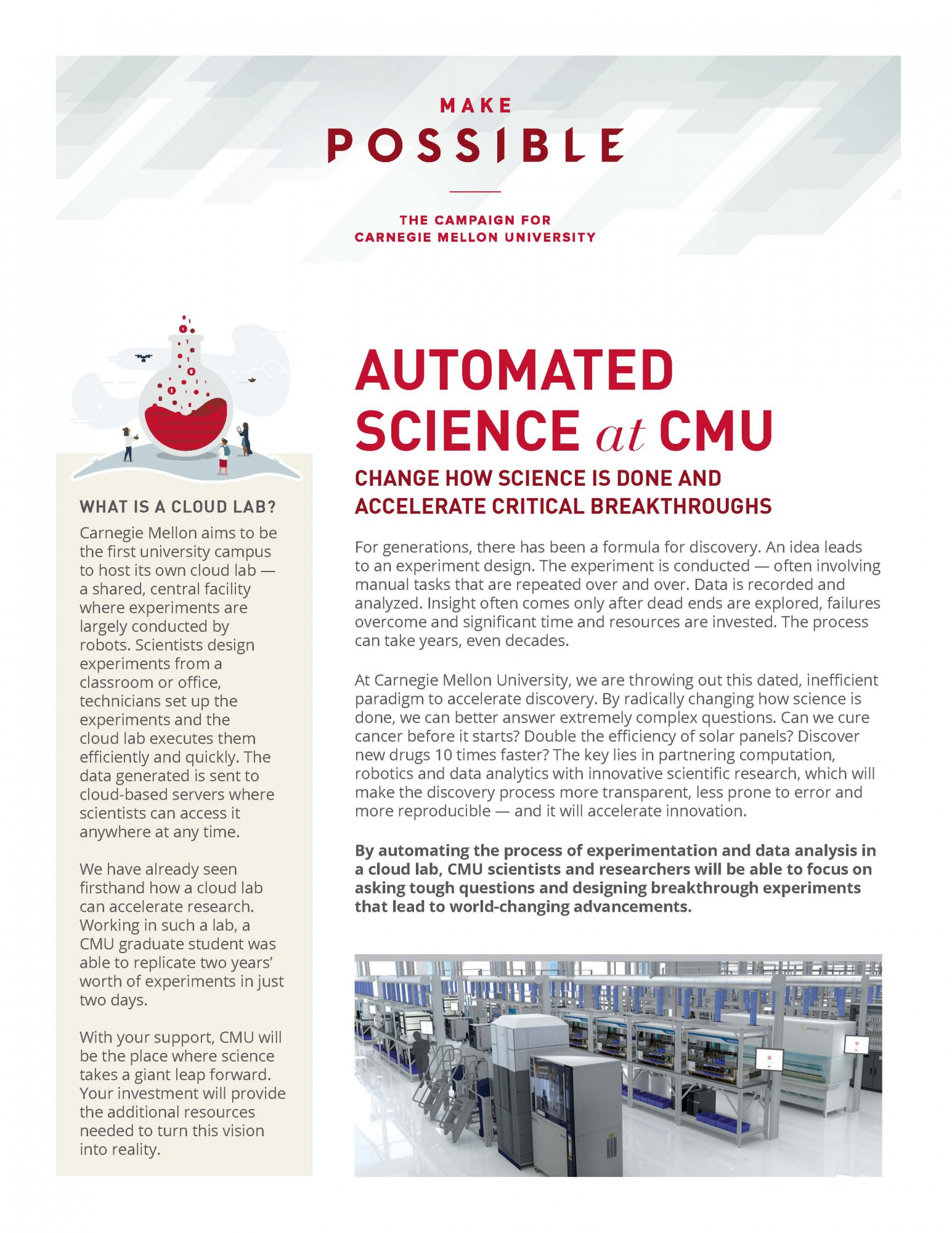 thumbnail of Automated Science info sheet
