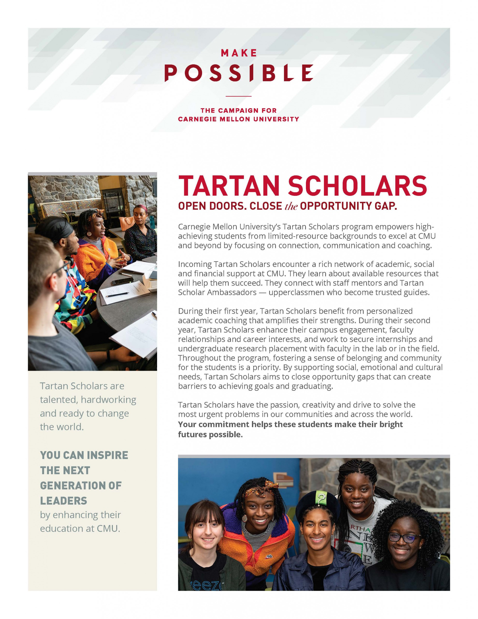 Thumbnail of Tartan Scholars Info Sheet